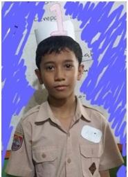 Arif, siswa Rangking 1 di pertemuan keenam